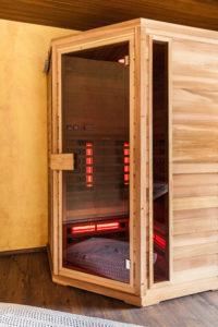 Spojenie infrasauny s tradičnou fínskou saunou