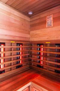 Vonkajšia sauna a infrasauna
